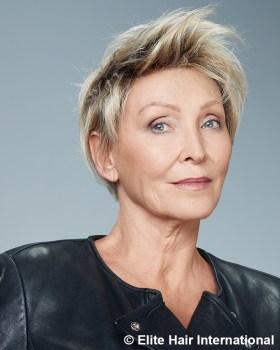 perruque-femme-cheveux-courts-rock-élégant - New Hair Institut